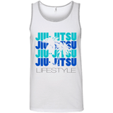 Jiu Jitsu Lifestyle -Tropical - Men's Tank - BJJ Problems
