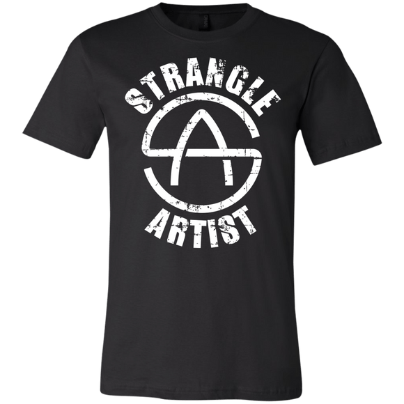 Strangle Artist v2.0 - Men's T-Shirt - BJJ Problems