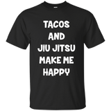 Tacos and Jiu Jitsu - Men's T-Shirt - BJJ Problems
