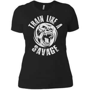 Train Like A Savage - Women's T-Shirt - BJJ Problems