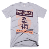Violence Is Not The Answer - Men's T-Shirt - BJJ Problems