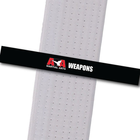 Chesterfield ATA - Weapons Achievement Stripes - BeltStripes.com : The #1 Source for Martial Arts Belt Tape