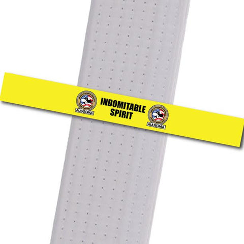 AUUSOMA - Indomitable Spirit Achievement Stripes - BeltStripes.com : The #1 Source for Martial Arts Belt Tape