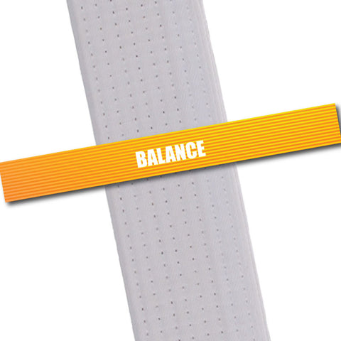 Achievement BeltStripes - Balance Achievement Stripes - BeltStripes.com : The #1 Source for Martial Arts Belt Tape