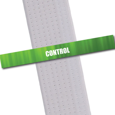Achievement BeltStripes - Control Achievement Stripes - BeltStripes.com : The #1 Source for Martial Arts Belt Tape
