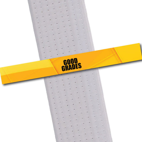 Achievement BeltStripes - Good Grades Achievement Stripes - BeltStripes.com : The #1 Source for Martial Arts Belt Tape