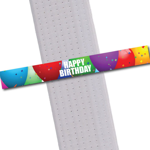 Achievement BeltStripes - Happy Birthday Achievement Stripes - BeltStripes.com : The #1 Source for Martial Arts Belt Tape