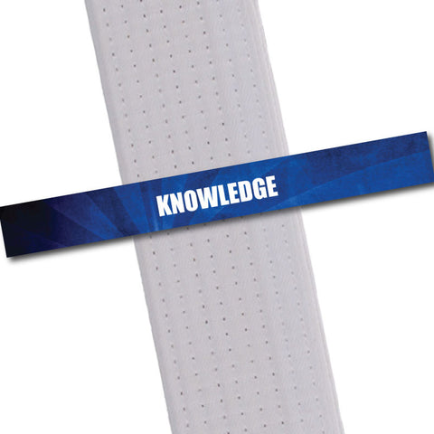 Achievement BeltStripes - Knowledge Achievement Stripes - BeltStripes.com : The #1 Source for Martial Arts Belt Tape