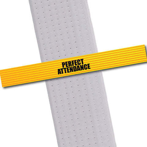 Achievement BeltStripes - Perfect Attendance Achievement Stripes - BeltStripes.com : The #1 Source for Martial Arts Belt Tape