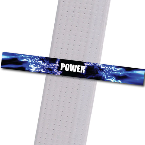 Achievement BeltStripes - Power Achievement Stripes - BeltStripes.com : The #1 Source for Martial Arts Belt Tape