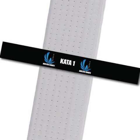 Ageless Karate - Completed Tasks - Kata 1 Custom Belt Stripes - BeltStripes.com : The #1 Source for Martial Arts Belt Tape