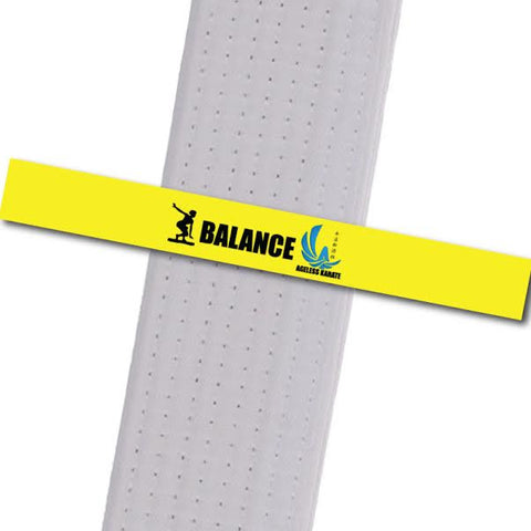 Ageless Karate - Little Ninjas - Balance Custom Belt Stripes - BeltStripes.com : The #1 Source for Martial Arts Belt Tape