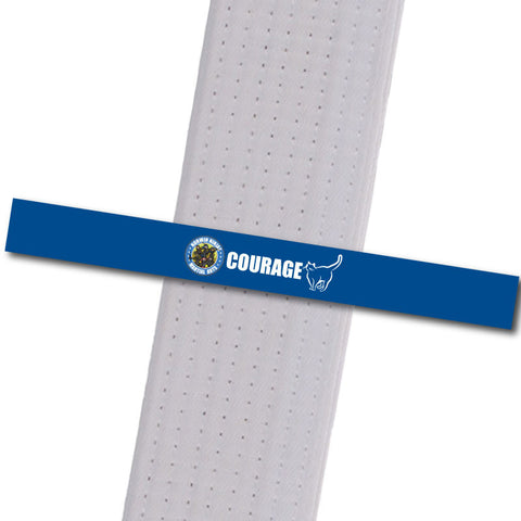 Allegheny Shotokan - Courage Achievement Stripes - BeltStripes.com : The #1 Source for Martial Arts Belt Tape