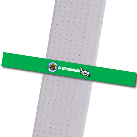 Allegheny Shotokan - Determination Achievement Stripes - BeltStripes.com : The #1 Source for Martial Arts Belt Tape