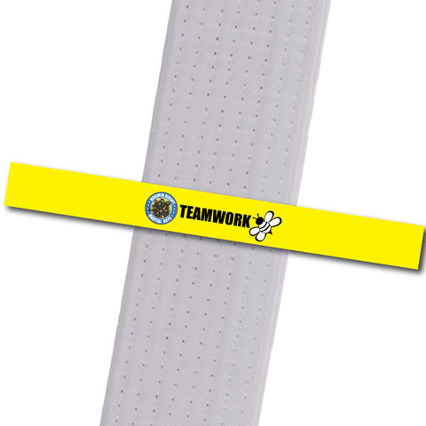 Allegheny Shotokan - Teamwork Achievement Stripes - BeltStripes.com : The #1 Source for Martial Arts Belt Tape