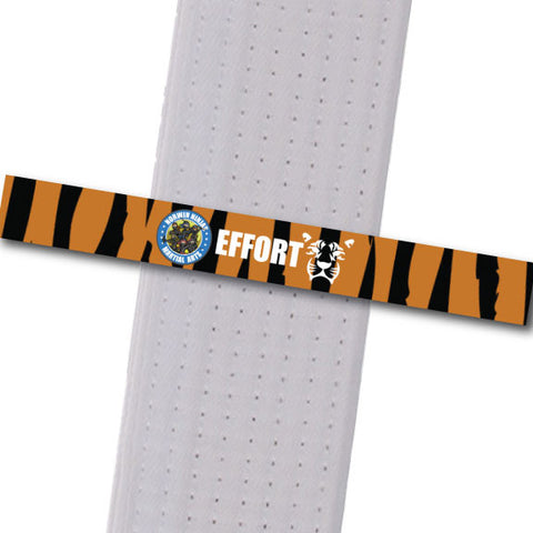 Allegheny Shotokan - Effort (Tiger) Achievement Stripes - BeltStripes.com : The #1 Source for Martial Arts Belt Tape