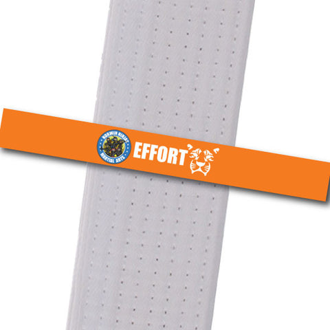 Allegheny Shotokan - Effort (Orange) Achievement Stripes - BeltStripes.com : The #1 Source for Martial Arts Belt Tape