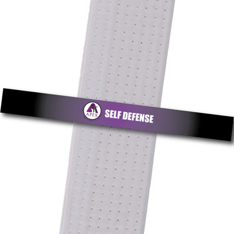 Apex MA - Self Defense Custom Belt Stripes - BeltStripes.com : The #1 Source for Martial Arts Belt Tape