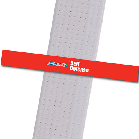 Apexx MA - Self Defense Custom Design Program - BeltStripes.com : The #1 Source for Martial Arts Belt Tape