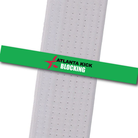 Atlanta Kick - Blocking Custom Belt Stripes - BeltStripes.com : The #1 Source for Martial Arts Belt Tape
