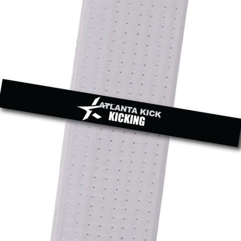 Atlanta Kick - Kicking Custom Belt Stripes - BeltStripes.com : The #1 Source for Martial Arts Belt Tape