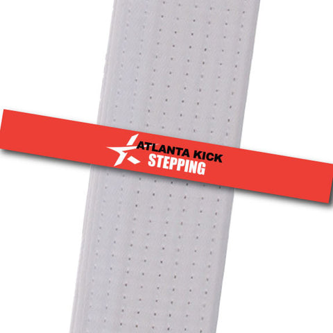 Atlanta Kick - Stepping Custom Belt Stripes - BeltStripes.com : The #1 Source for Martial Arts Belt Tape