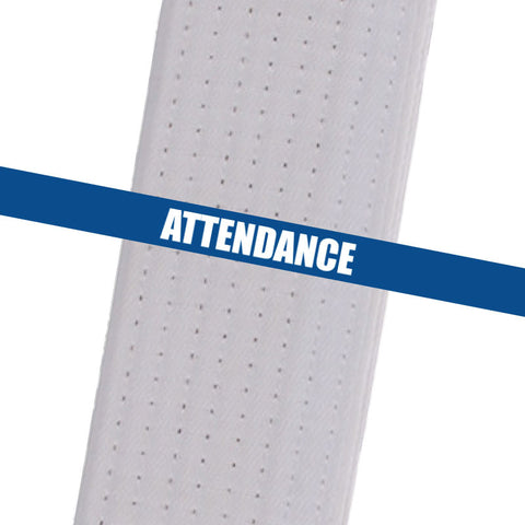 Superstar Karate - Blue Attendance Custom Belt Stripes - BeltStripes.com : The #1 Source for Martial Arts Belt Tape