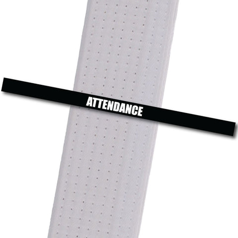 Attendance Stripes - Black Achievement Stripes - BeltStripes.com : The #1 Source for Martial Arts Belt Tape