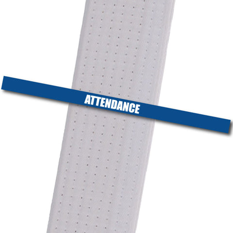 Attendance Stripes - Blue Achievement Stripes - BeltStripes.com : The #1 Source for Martial Arts Belt Tape
