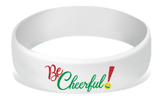 MatChats - Be Cheerful - Silicone Wrist Bands - Level 4: Champion