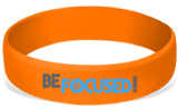 MatChats - Be Focused - Silicone Wrist Bands - Level 4: Champion