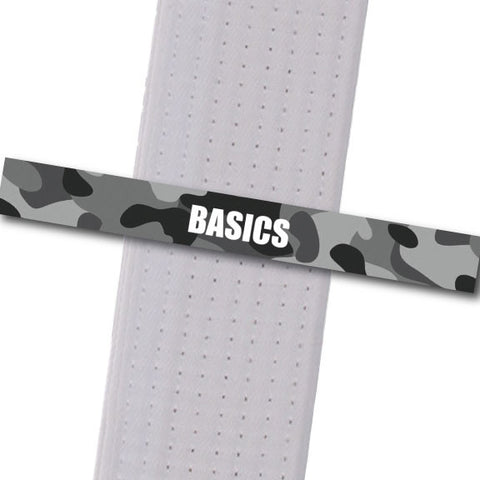 Blackman Academy - Basics Achievement Stripes - BeltStripes.com : The #1 Source for Martial Arts Belt Tape