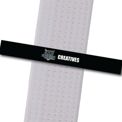 Blackman Academy - Creatives Achievement Stripes - BeltStripes.com : The #1 Source for Martial Arts Belt Tape