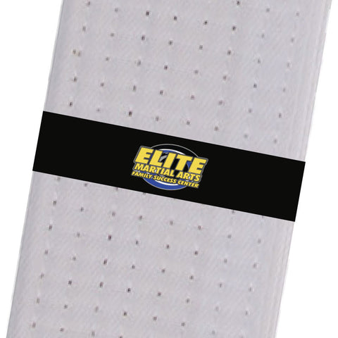 Elite Martial Arts Center BeltStripes - Black Elite Martial Arts Center - BeltStripes.com : The #1 Source for Martial Arts Belt Tape