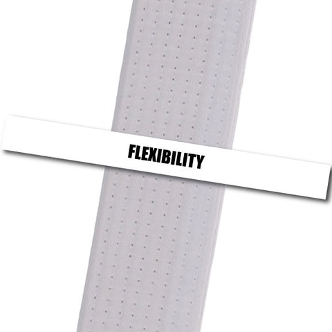 Family Martial Arts Center - Flexibility Achievement Stripes - BeltStripes.com : The #1 Source for Martial Arts Belt Tape