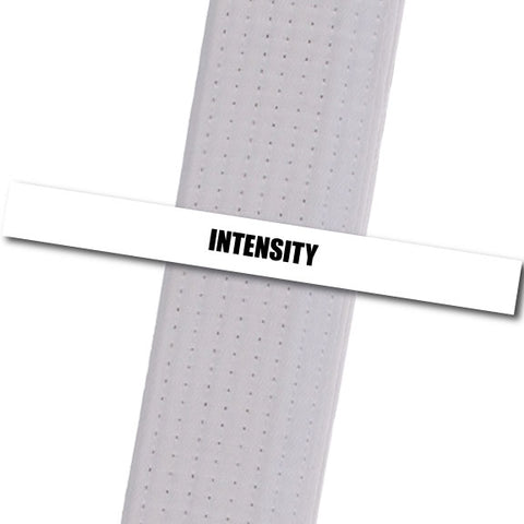 Family Martial Arts Center - Intensity Achievement Stripes - BeltStripes.com : The #1 Source for Martial Arts Belt Tape