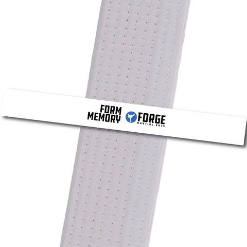 Forge MA - Form Memory Custom Belt Stripes - BeltStripes.com : The #1 Source for Martial Arts Belt Tape
