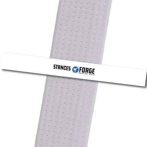 Forge MA - Stances Custom Belt Stripes - BeltStripes.com : The #1 Source for Martial Arts Belt Tape