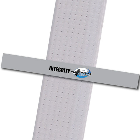 Frazier Martial Arts - Integrity Custom Belt Stripes - BeltStripes.com : The #1 Source for Martial Arts Belt Tape