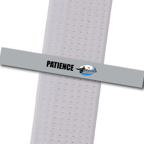 Frazier Martial Arts - Patience Custom Belt Stripes - BeltStripes.com : The #1 Source for Martial Arts Belt Tape