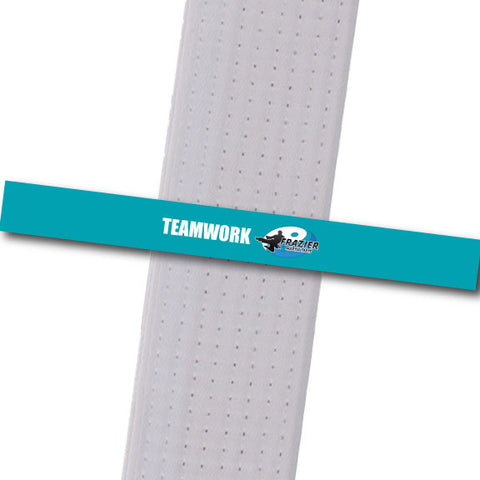 Frazier Martial Arts - Teamwork Custom Belt Stripes - BeltStripes.com : The #1 Source for Martial Arts Belt Tape
