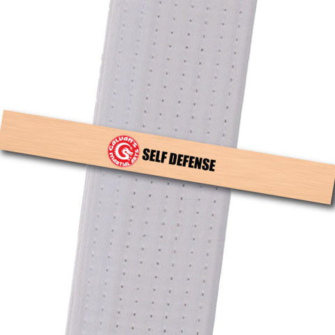 Galvans MA - Self Defense Achievement Stripes - BeltStripes.com : The #1 Source for Martial Arts Belt Tape