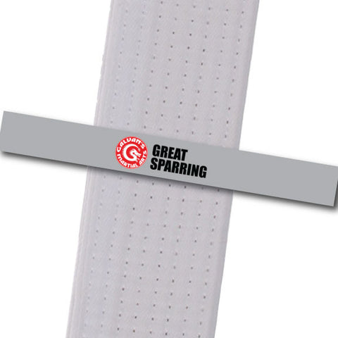 Galvans MA - Great Sparring Achievement Stripes - BeltStripes.com : The #1 Source for Martial Arts Belt Tape