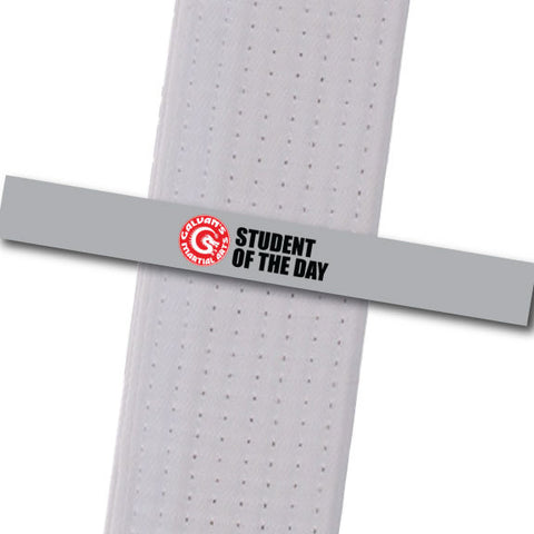 Galvans MA - Student of the Day Achievement Stripes - BeltStripes.com : The #1 Source for Martial Arts Belt Tape