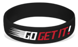 Go Get It! Silicone Wrist Bands Wristbands - BeltStripes.com : The #1 Source for Martial Arts Belt Tape