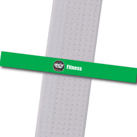 Gracie PAC MMA - Fitness Custom Belt Stripes - BeltStripes.com : The #1 Source for Martial Arts Belt Tape