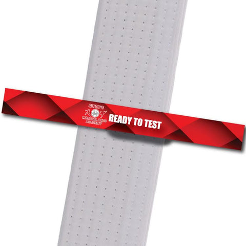 Guidos MA - Ready to Test Custom Belt Stripes - BeltStripes.com : The #1 Source for Martial Arts Belt Tape