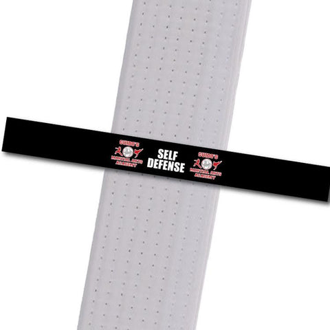 Guidos MA - Self Defense Custom Belt Stripes - BeltStripes.com : The #1 Source for Martial Arts Belt Tape