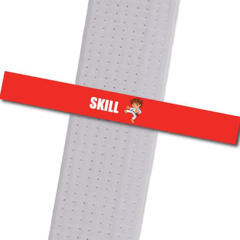 Haynes Little Leaders - Skill Custom Belt Stripes - BeltStripes.com : The #1 Source for Martial Arts Belt Tape