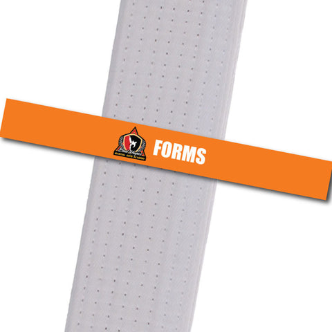 Haynes Martial Arts-Forms Custom Belt Stripes - BeltStripes.com : The #1 Source for Martial Arts Belt Tape